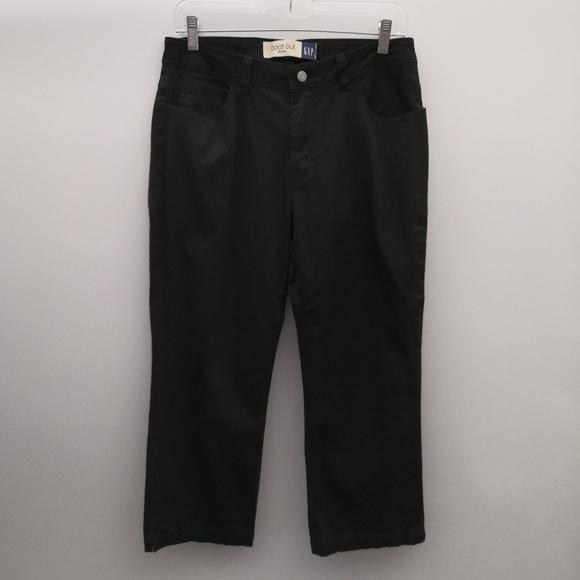 GAP Pants - 🌴 Vintage Gap Black Crop Boot Cut Stretch Pants